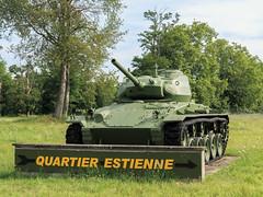 M24 Chaffee Camp militaire d'Oberhoffen