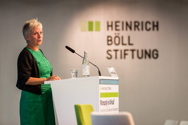 Introduction by Barbara Unmüßig (hbs) (c) Joerg Farys | Heinrich Boell Foundation