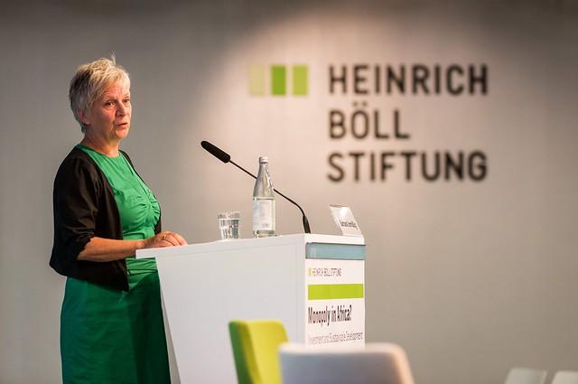 Introduction by Barbara Unmüßig (hbs) (c) Joerg Farys | Heinrich Boell Foundation