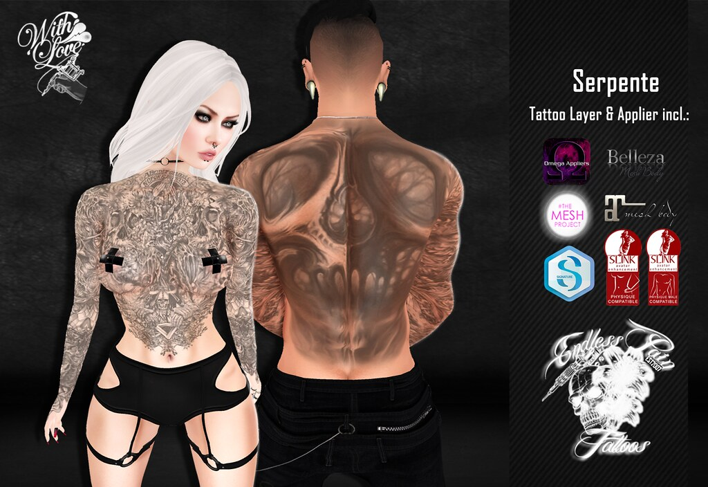 Serpente Vendor for The Darkness - SecondLifeHub.com
