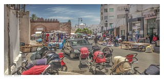 Tetouan تطوان, Morocco, out on the street.