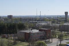 Skats no bij. Daugavpils ķīmiskās šķiedras rūpnīcas, 06.05.2017.
