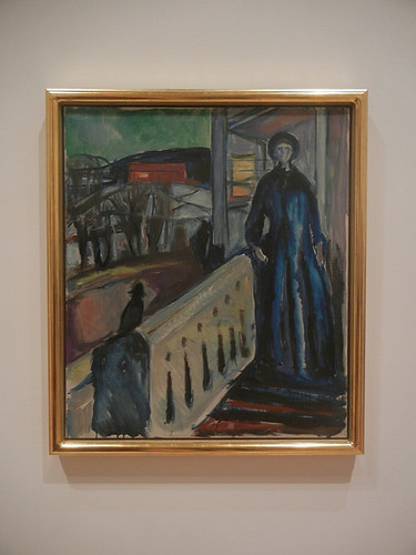 DSCN9082 _ On the Veranda Stairs, 1922-24, Edvard Munch, SFMOMA