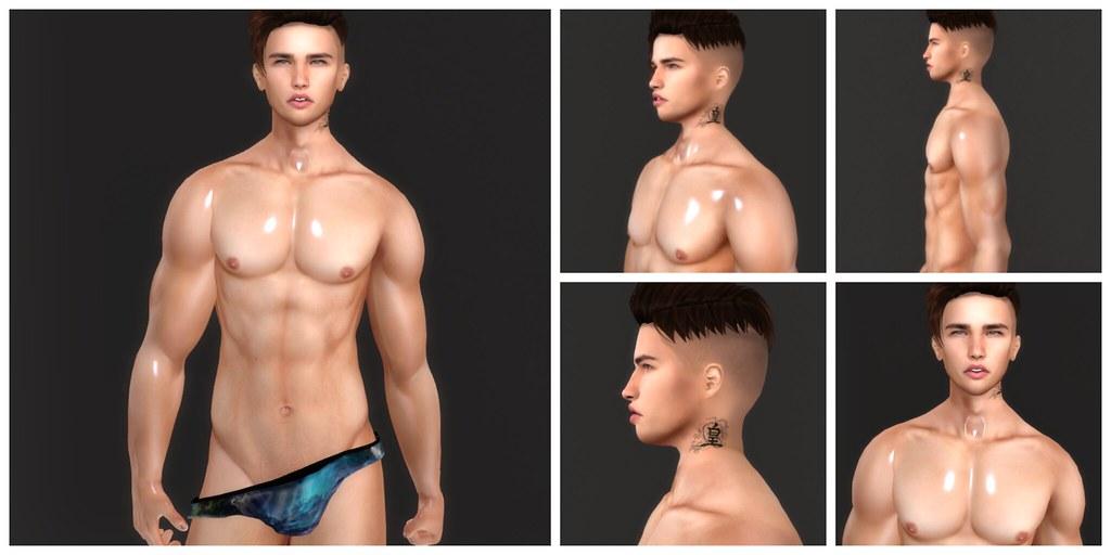 Justin Bento Shape - SecondLifeHub.com