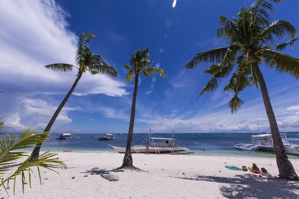 Bounty beach en Malapascua