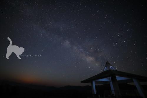 四国中央市 愛媛県 日本 milkyway galaxy starrysky