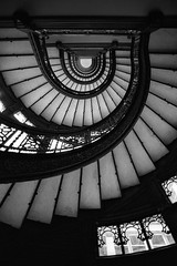 staircase. chicago, il. 1997.