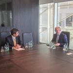 President Nakao visits Ireland