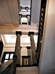 Great stairway of Congress Center of University at Via Partenope in Naples (1937) - Architect Roberto Pane (Taranto 1897-Sorrento 1987)