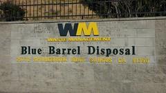 Blue Barrel Disposal