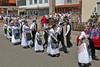 Der Festumzug auf dem Rückmarsch in die St. Judas Thaddäus Kirche