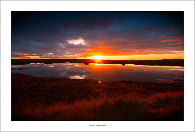 Sunset on the Isle of Lewis