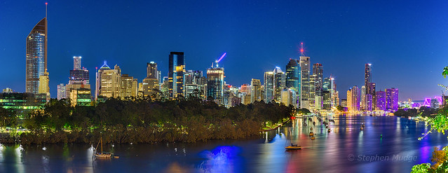 Brisbane city at dawn #1