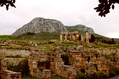 Acrocorinth and the Temple of Apollo