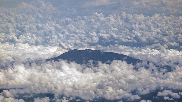 Turrialba volcano, Panasonic DMC-G1, Lumix G Vario 45-200mm F4.0-5.6 Mega OIS