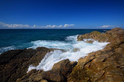 Treachery Headland Wave Action