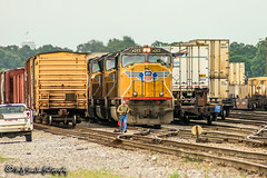 UP 4203 | EMD SD70M | NS Forrest Yard
