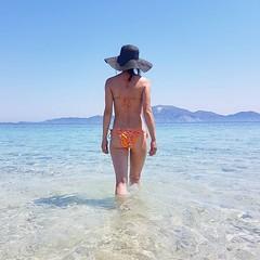 Stunning beach in Marathonisi Islet, Zakynthos Island #Greece #travel @VisitGreeceGr