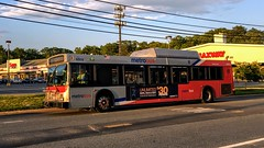 WMATA Metrobus 2005 New Flyer DE40LF #6009