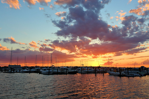 sunset newbedford massachusetts sky newengland reflection boats marina beauty canon eos 5d markiii