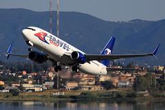 Travel Service  Boeing 737-8FN OK-TVL