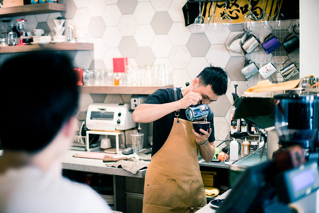桃園/中壢-咖啡是用來乘載一家人–祖厝咖啡