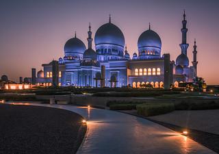 Zheikh Zayed grand mosque