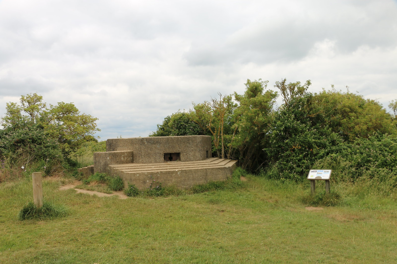 Pillbox, The Naze, Walton-on-the-Naze