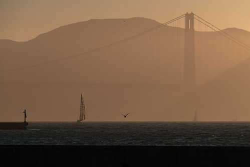 sunset sanfrancisco goldengatebridge