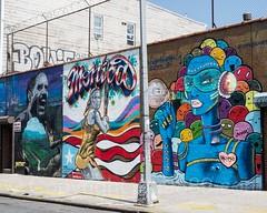 Harman Wall Mural, Bushwick, Brooklyn, New York City