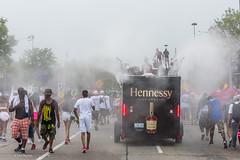 Cooling mist at caribana Parade