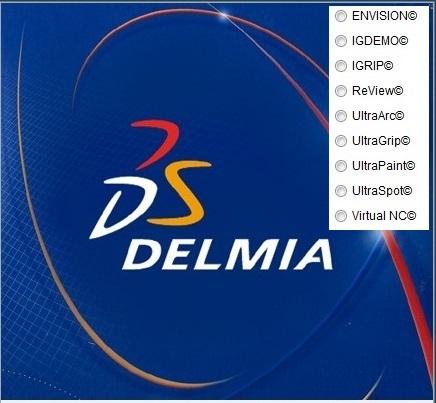 DS DELMIA VMAP V5-6R2016