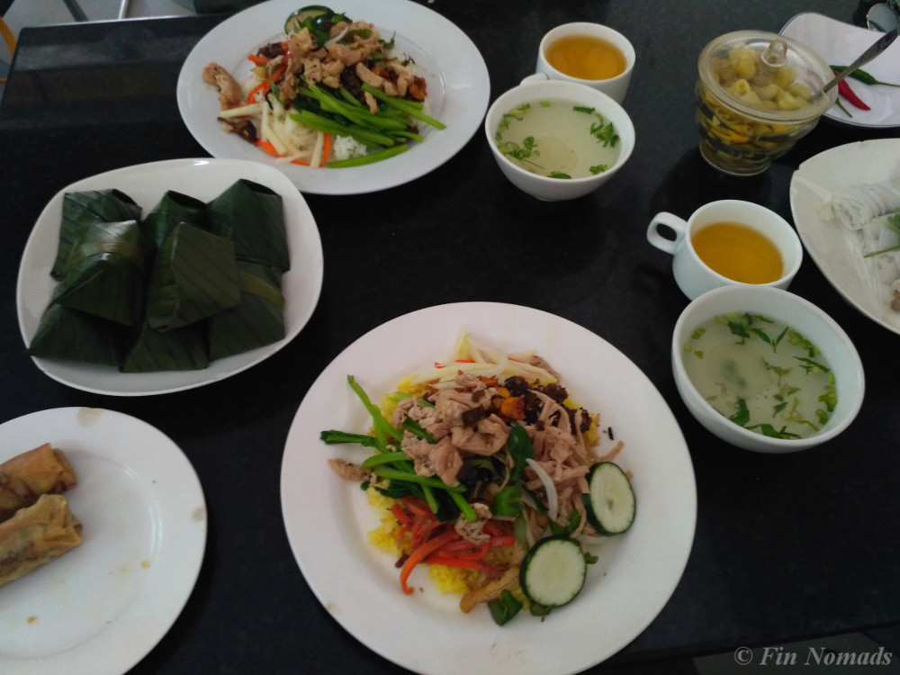 vegetarian food da nang 2