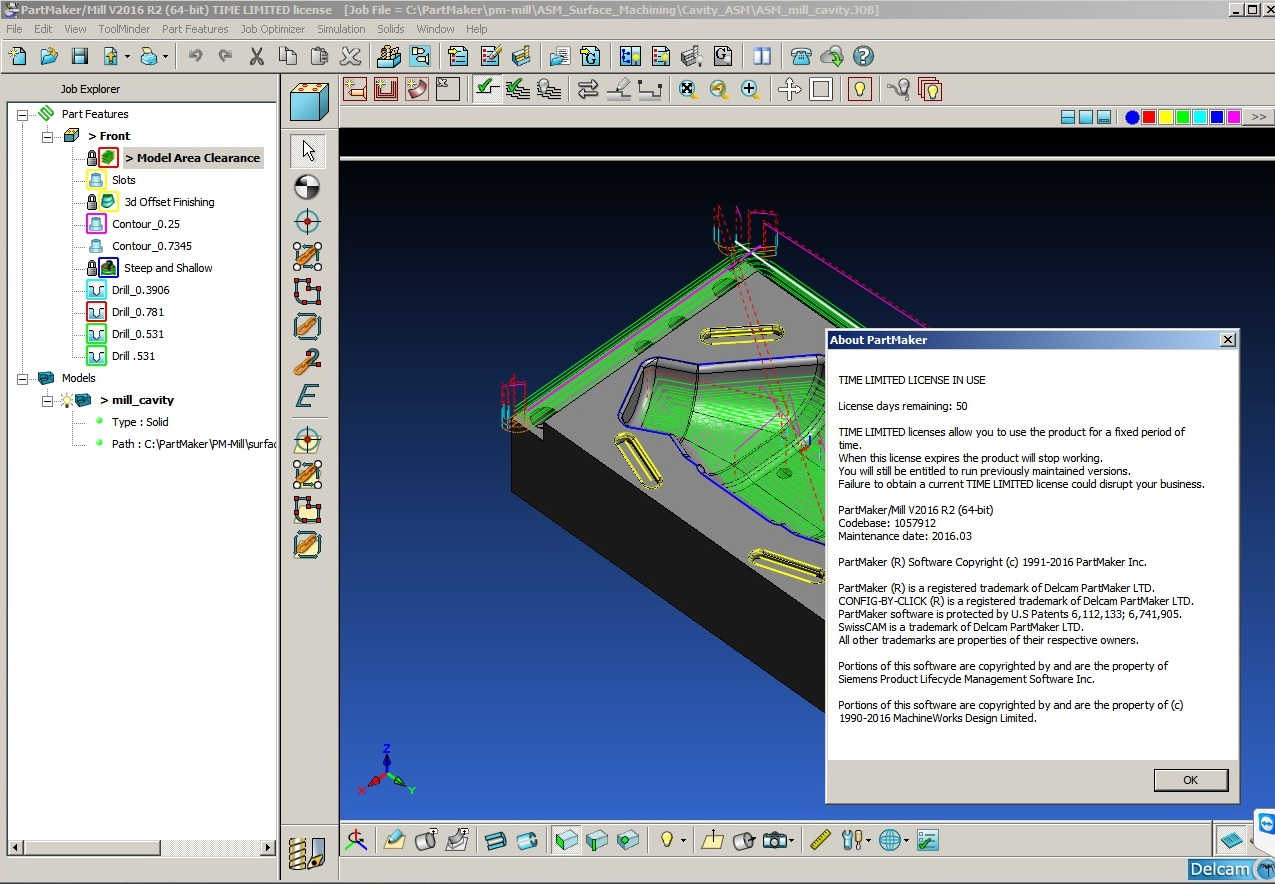 Machining with Delcam PartMaker 2016 R2 full crack