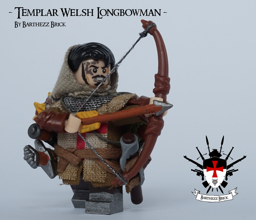 Templar Welsh Longbowman By Barthezz Brick 6