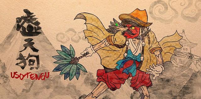 """充滿諷刺的警世作品!Keira - Masked Tales(面具童話)第一彈:""""噓天狗"""""""