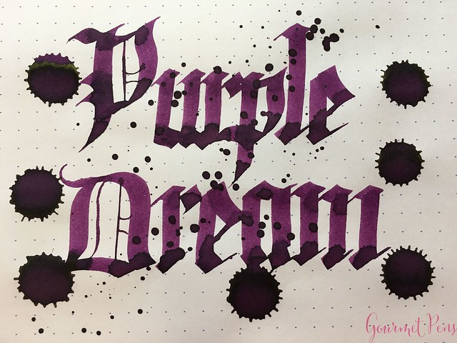 Ink Shot Review Diamine Anniversary Purple Dream @AppelboomLaren 8
