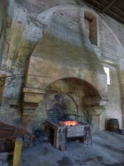 Fontenay Abbey - The forge