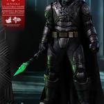 2017 香港動漫節限定版!Hot Toys – MMS417 – 蝙蝠俠對超人:正義曙光【鋼鐵蝙蝠俠 戰損版】BvS Armored Batman (Battle Damaged Version)  1/6 比例人偶作品