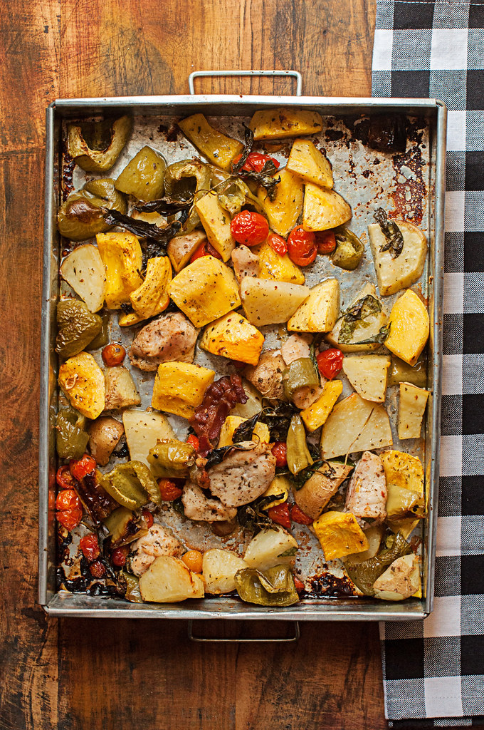 Day 119/365 - Roasted Vegetables
