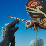 「東寶特攝博物館」摩斯拉&哥吉拉(1964年版本) 限定組合! モスラ(1964)&ゴジラ(1964)限定セット