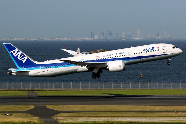All Nippon Airways | Boeing 787-9 | JA830A | Tokyo Haneda