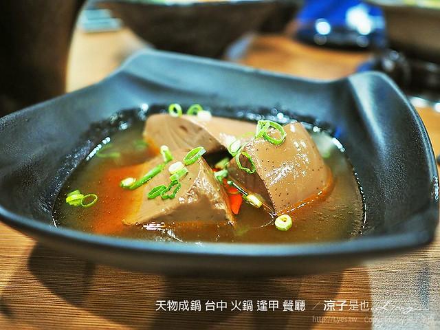 天物成鍋 台中 火鍋 逢甲 餐廳  8
