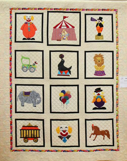 146: Circus Quilt—Joan Gunning