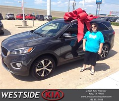 #HappyBirthday to Mary from Rick Hall at Westside Kia!