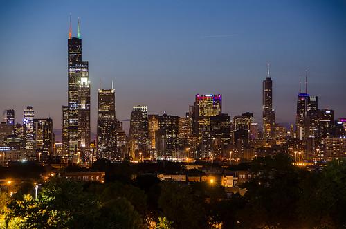 Chicago Pride Skyline