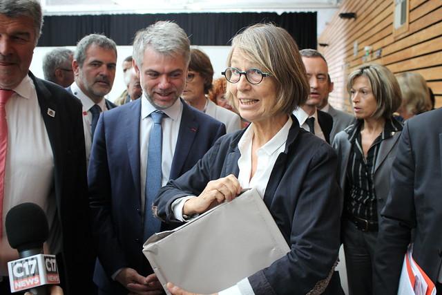 Françoise Nyssen aux Rencontres nationales de la librairie
