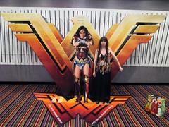 Wonder Woman Battle Armor Standee Lisa 18111