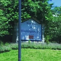 #WelcometoWashingtonDC #WelcometoWashingtonDCsign at the #Maryland #border #USA #NationsCapital #WashingtonDC #Washington #DC #TheDistrict #DistrictofColumbia #NewColumbia #TheWhiteHouse #WhiteHouse #DonaldTrump #Donald #Trump #USA #NewYorkAvenue #NE #NED