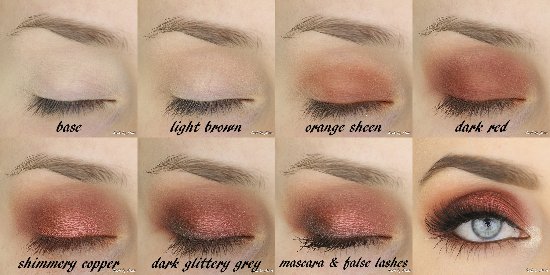 4 warm red smoky eye tutorial ideas inspo nyx perfect filter palette rustic antique